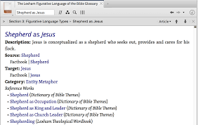 new feature figurative language logos bible software forums