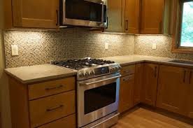 Kitchen Remodel Maple Cabinets Nutmeg Finish Milwaukee Cabinetry - Kitchen cabinets milwaukee