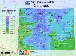 Garden Zone Map California - colorado hardiness zone map for planting