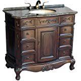 amazon com 50 inch antique style double sink bathroom vanity