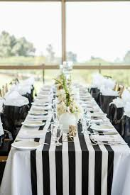 black and white table runners cheap furniture wedding table runner black and white striped runners