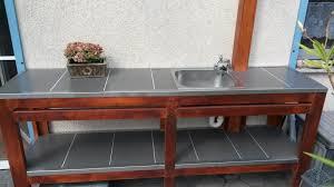 aussenküche bauanleitung userprojekt garten balkon selbst de