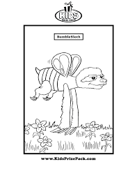 coloring pages kids prize pack