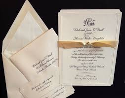 wedding invitations orlando maureen h hall stationery and