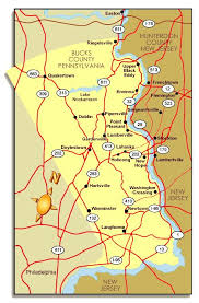 map of bucks county pa towns bucks county pa road map map of bucks county pa map of pa