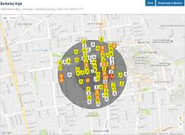 Map Berkeley Tims Transportation Injury Mapping System