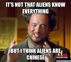 It Was Aliens Meme - aliens