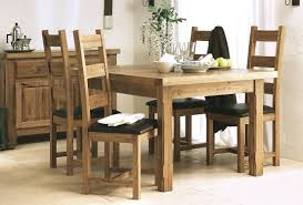 awesome oak kitchen table sets with wood trends picture