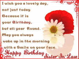 50 happy birthday quotes for sister in law with images