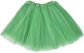 green tulle simplicity women s classic elastic 3 layered tulle tutu skirt