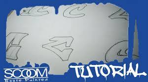 como hacer la letra c en graffiti letter c by scoom youtube