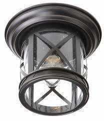 Coastal Ceiling Lights Trans Globe Lighting 5128 New Coastal 11 Outdoor Flush Mount