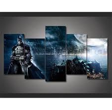 batman home decor justice league batman home decor hd printed modern art painting on