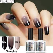 flossy sunflower new 24 colors gel polish nail change color water