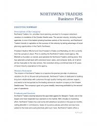 Starting A Business Plan Template Business Plan Format For Travel Agency