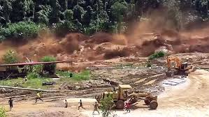 ao dam faulty construction heavy cause dam to flood lao villages