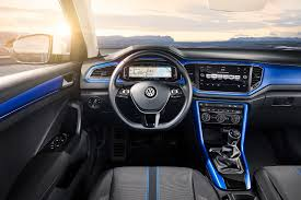volkswagen pickup interior vw t roc revealed news photos specs prices by car magazine