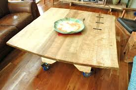 Tiger Maple Furniture Dining Table Dining Sets Custom Made Tiger Maple 7x40 Dining