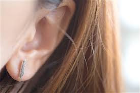 feather stud earrings feather ear studs feather stud earrings sterling silver feather