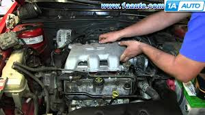 how to install replace fuel injector gm 3 4l v6 pontiac grand am