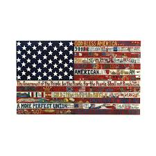 Uncommon Usa Flags Flag Plaque Aaron Foster American Flags Stars Stripes Wall