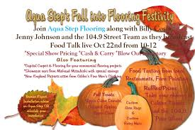 Aquastep Laminate Flooring Aqua Step Fall Into Flooring Festival 10 22 17