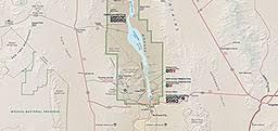 lake mead map maps lake mead national recreation area u s national park service