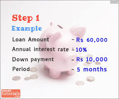 how to calculate monthly loan payments how to calculate emi equated monthly installment calculation