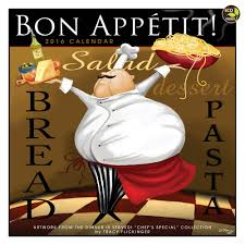 2016 bon appetit wall calendar tracy flickinger 9781624380457