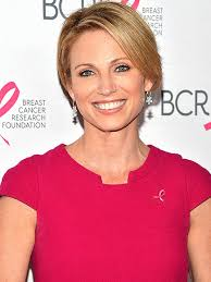 cute haircuts on gma amy robach one year after cancer i m almost at 100 percent