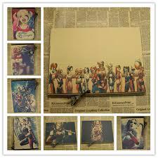 Vintage Retro Home Decor Aliexpress Com Buy Home Decor Vintage Retro Kraft Paper Batman