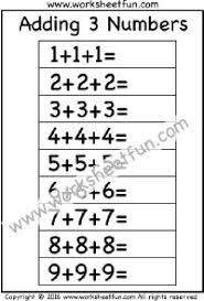 comparing numbers 1 10 u2013 three worksheets kindergarten