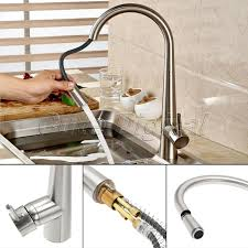 Masters Kitchen Sinks Other Kitchen Brass Kitchen Faucet Swivel Spout Brushed Nickel