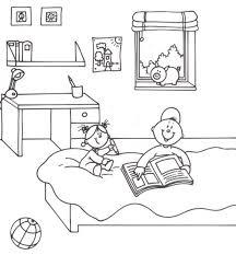 dessin chambre enfant coloriage decoration dune chambre de bebe idées de décoration