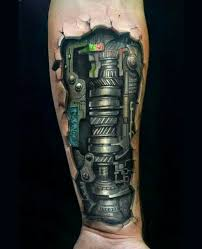 36 mechanical arm tattoos with meanings mechanical arm tattoo