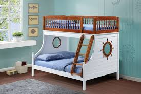 Farah Collection Oak And - Guard rails for bunk beds