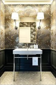 bathroom with wallpaper ideas contemporary bathroom wallpaper toberane me