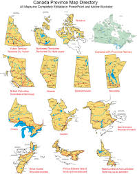 Canada Provinces Map by Maps For Design U2022 Editable Clip Art Powerpoint Maps Editable
