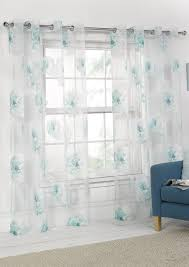 Whitworth Duck Egg Lined Curtains Rose Voile Panel Eyelet Duck Egg Curtains Com