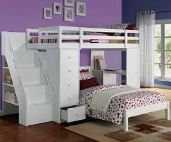 Loft Bed Set Twin Loft Bed Set With Desk And Step Ladder