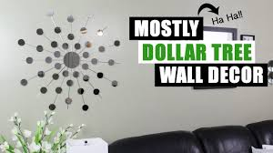 mostly dollar tree diy mirror wall decor diy home decor youtube mostly dollar tree diy mirror wall decor diy home decor youtube