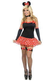 miss mouse costume womens minnie mouse halloween costumes