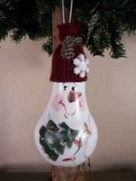 snowman light bulb ornament diy snowman light bulb