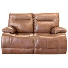 sanibel whiskey power reclining sofa with power headrest bernie