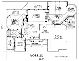 revival home plans house plan 98295 at familyhomeplans com