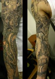 25 full sleeve tattoo designs