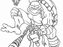 teenage mutant ninja turtles michelangelo michelangelo coloring