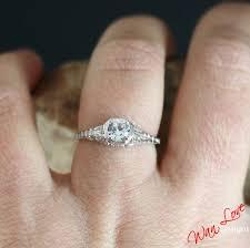 sapphire studios black moissanite white white sapphire engagement ring solitaire antique filigree round