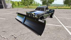 Dodge 3500 Dump Truck With Plow - power ram plow for farming simulator 2017