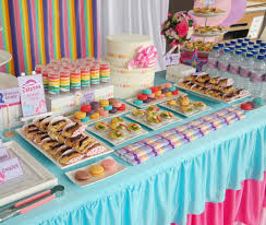 themed dessert table favors prints